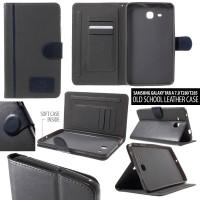 Samsung Galaxy Tab A 7.0 2016 T280 T285 Old School Flip Leather Case