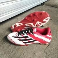 Sepatu Bola Adidas Messi F10 - Red/White/Black