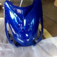 Tameng / Dasi Honda Beat Lama Karbu Biru tua, Merah, Putih, Hitam ,