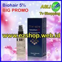 Bio Hair Solution 5% Gratis Sarung Tangan Asli Ez Shop (Tonic, Serum)