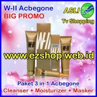WII Acbegone Paket 3 in 1 Asli Ez Shop Obat Jerawat Batu Ampuh Alami