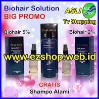 Paket PROMO Bio Hair Solution Gratis Shampo Tonic Alami Asli Ez Shop