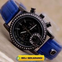 Jam Tangan Wanita Aigner Disny Blue In Black Color Fashion Limited