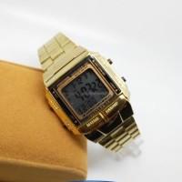 jam tangan wanita/ cewe fortuner gold model casio db360 o Best Seller!