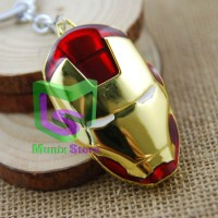 Jual Keychain Gantungan kunci - Iron Man mask [Avengers / Marvel] Murah