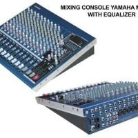 Mixer Yamaha Mg16/6fx (Ada Equalizer)