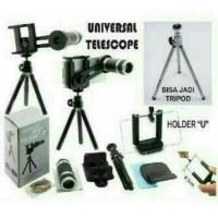 harga Telezoom / Teleskop + mini tripod Tokopedia.com
