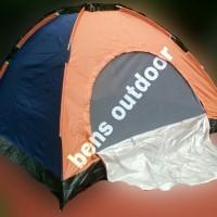 Jual tenda hyu single layer kapasitas 4 orang Murah