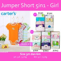 harga Jumper Carter Short 5in1 Girl Tokopedia.com