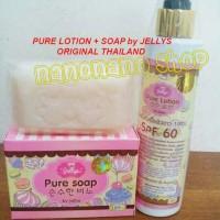 Jual PURE JELLY SOAP + BODY LOTION ORIGINAL Murah