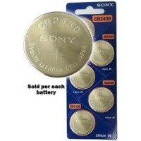 harga SONY CR2430 3 Volt Coin Lithium Cell Battery - SNY-CR2430 Tokopedia.com