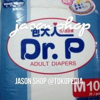 Pampers Dewasa/Diapers/Popok dewasa Dr. P Basic size M 10pc/size L 8pc