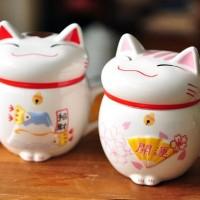 harga Gelas minum /Mug/Cangkir/Cup Lucky cat keramik unik /gelas mug kucing Tokopedia.com