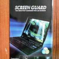 "screenguard antigores laptop 14"" wide pemasangan"