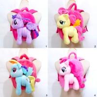 harga Tas Ransel Anak Boneka My Little Pony Impor 25CM Tokopedia.com