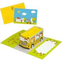 DIY Papercraft Pop Up Card Bis Sekolah