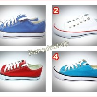 Sepatu Casual Runner Basket Low Cut Bukan Converse All Star Adidas
