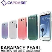 Jual CAPDASE Karapace Cases Pearl Samsung Galaxy S3 i9300 Baru   Cas