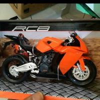 Diecast Miniatur Motor KTM RC8 1:12 Joycity