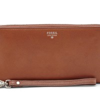 harga Fossil Sydney Double Accordion Brown SL6689200 Tokopedia.com