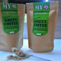 Jual GREEN COFFE POWDER/ KOPI HIJAU BUBUK ORGANIK ALAMI 200GR Murah