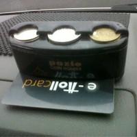 tempat koin kartu mobil/coin card holder
