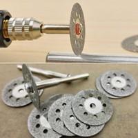 Diamond Cutting Wheel Mata Potong Diamond Mini Grinder Batu Logam