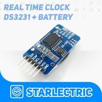DS3231 I2c RTC Modul + Baterai Modul Jam Arduino Raspberry Pi