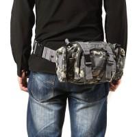 Jual tas selempang slempang army tactical pria cowok 3 way sling waist bag Murah