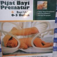 Pedoman pijat bayi prematur & bayi usia 0-3 bulan
