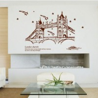 London Bridge AY9137 - Stiker Dinding / Wall Sticker (60x90)