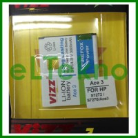 Baterai Vizz Samsung Galaxy Ace 3 S7272 S7270 Batre Double Power Dobel