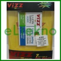 Baterai Vizz Lenovo BL203 A369 A369i A316i Batre Double Power Dobel