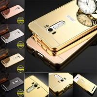 harga Asus Zenfone Selfie 5,5 inc Bumper Case Aluminium Mirror Cover Tokopedia.com