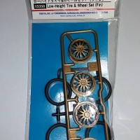 Tamiya Low-Height Tire & Wheel Set (Fin)