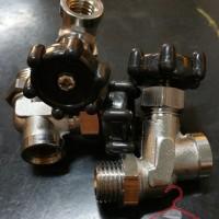 Kran Buang Air Setrika Uap Boiler 1/4 (Set)