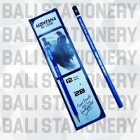 Pensil 2B Montana Biru For Computer (MT-2801B)