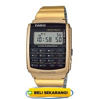 JAM TANGAN CASIO DATABANK CA-506G-9A ORIGINAL - CA506G GOLD Supplier