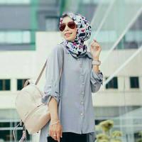 Atasan Blouse Tunik Wanita Baju Muslim Blus Muslim Sezy Top