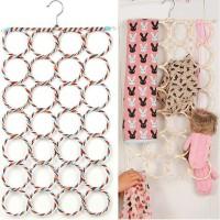 Jual Gantungan Jilbab / Hanger 28 Ring - Bisa Untuk Hijab Sabuk dan Syal Murah