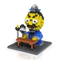 Loz Lego Nano Block Three Kingdoms Zhuge Liang