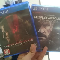 BD PS4 BUNDLE METAL GEAR SOLID V: THE PHANTOM PAIN AND GROUND ZERO