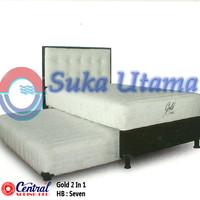 harga Spring Bed Central Gold Kids 2 In 1 HB Seven 100x200cm Full Set Tokopedia.com