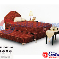 Spring Bed Central Deluxe 2 In 1 HB Florida 100x200cm Full Set