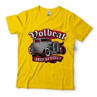Baju Kaos Band Volbeat Rock And Roll Daisy
