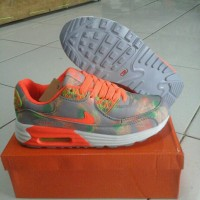 Sepatu wanita nike airmax 90 nike flower terbaru NK96 Limited e2fda2bd8c