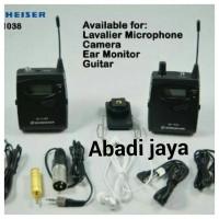 Sennheiser Ek 1038 G2 camera mount wireless system witm mi
