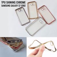 Tpu shining chrome samsung s7 edge