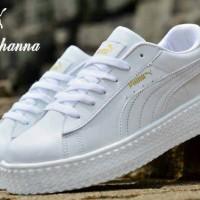 harga sepatu wanita casual puma rihanna sport senam Tokopedia.com