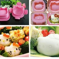 Harga cetakan nasi bento hello kitty cetakan makanan hello | antitipu.com